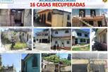 Autoridades recuperan 16 casas en Villa Nueva ocupadas por pandilleros