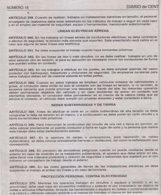 Transdoc :: REGLAMENTO DE SALUD Y SEGURIDAD OCUPACIONAL :: transdoc.com
