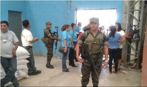 Otto Perez Molina Military